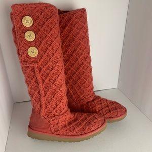 UGG Crochet Tall Boots